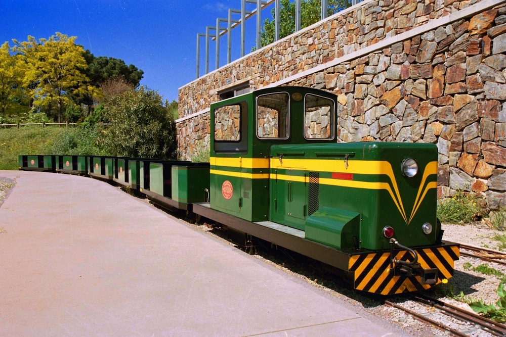 El tren del Parc de Catalunya