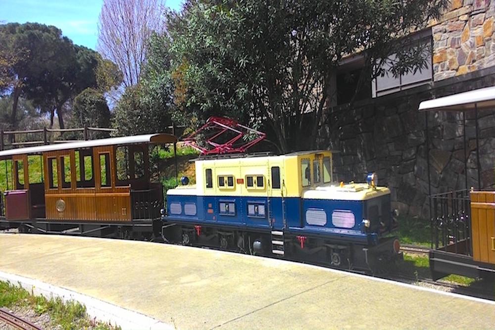 tren miniatura parc catalunya, sabadell