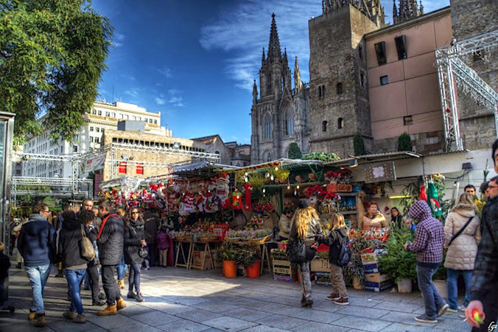 Fira de Santa Llucia de Barcelona