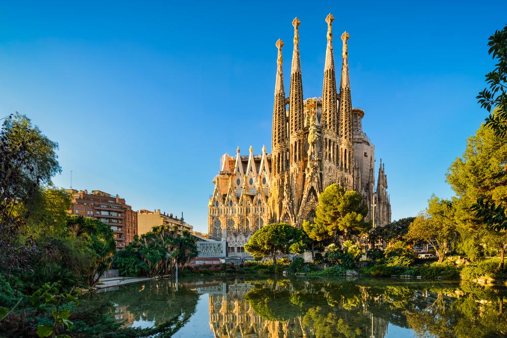 Gaudi's-monuments-in-Barcelona