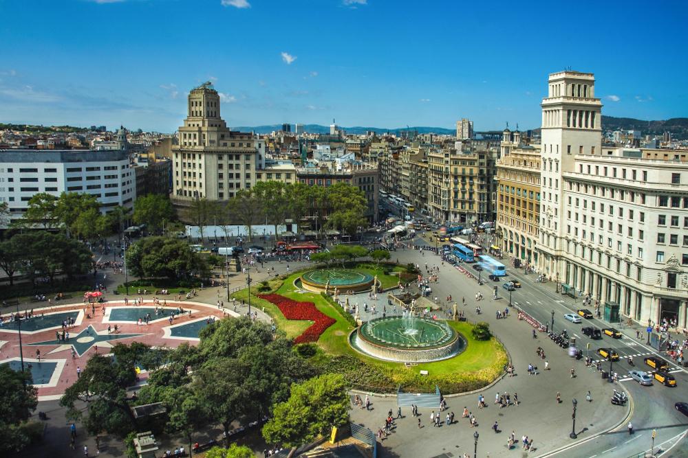Visitar la Plaza Catalunya